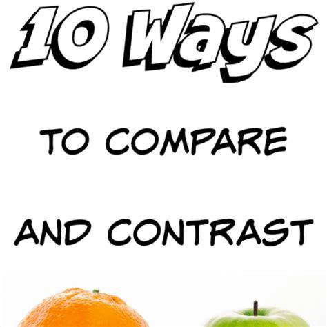 Compare & Contrast Thesis Statements - SFUca